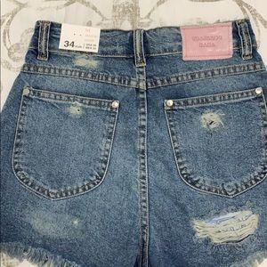 Zara Shorts - zara • pac-man high waist shorts